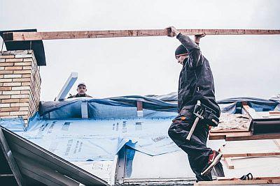 Rekonstrukce zateplení střechy chalupy na Dobříšsku, zdroj: KNAUF