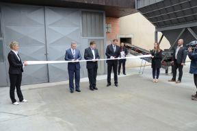 Slavnostní otevření nové továrny na výrobu pěnového skla, foto zdroj A-Glass, člen REC Group