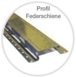 Odhlučnění stropní  konstrukce  je montáž na pružný profil, fotozdroj Ciur a.s.