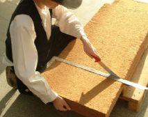 Pokládka flexibilní dřevovláknité izolační hmoty UdiFLEX®, zdroj: Ciur a.s.