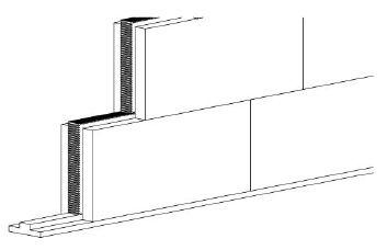 UdiSTONE® SYSTÉM Izolační stavební prvek pro ekologickou výstavbu interiérů, zdroj: Ciur a.s.