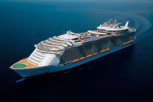 Loď Harmony of the Seas, patřící společnosti Royal Caribbean Cruises, zdroj: ROCKWOOL