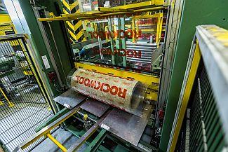 Výrobní linka kamenné vlny Rockwool, zdroj: Rockwool