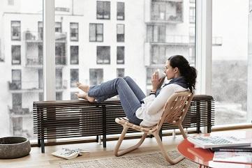 Odpočívající žena