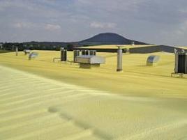 Izolační systém PUR 30-35mm akrylátová UV vrstva