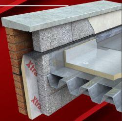 Tepelná izolace z PIR plochých střech, Xtratherm FR/Alu