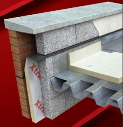 Tepelná izolace  z PIR plochých střech, Xtratherm FR/MG