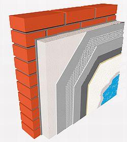 Zateplovací systém ETICS Tytan EOS s izolantem na bázi pěnového polystyrenu