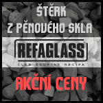 Refaglass štěrk z pěnového skla