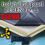 AKCE - PIR desky s hliníkovou fólií