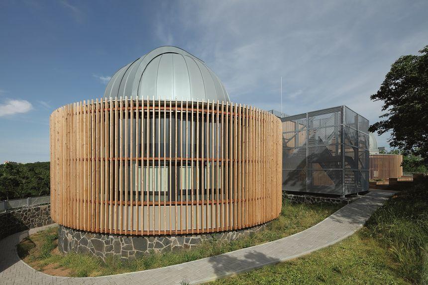 Hvězdárna Teplice - pohled z boku