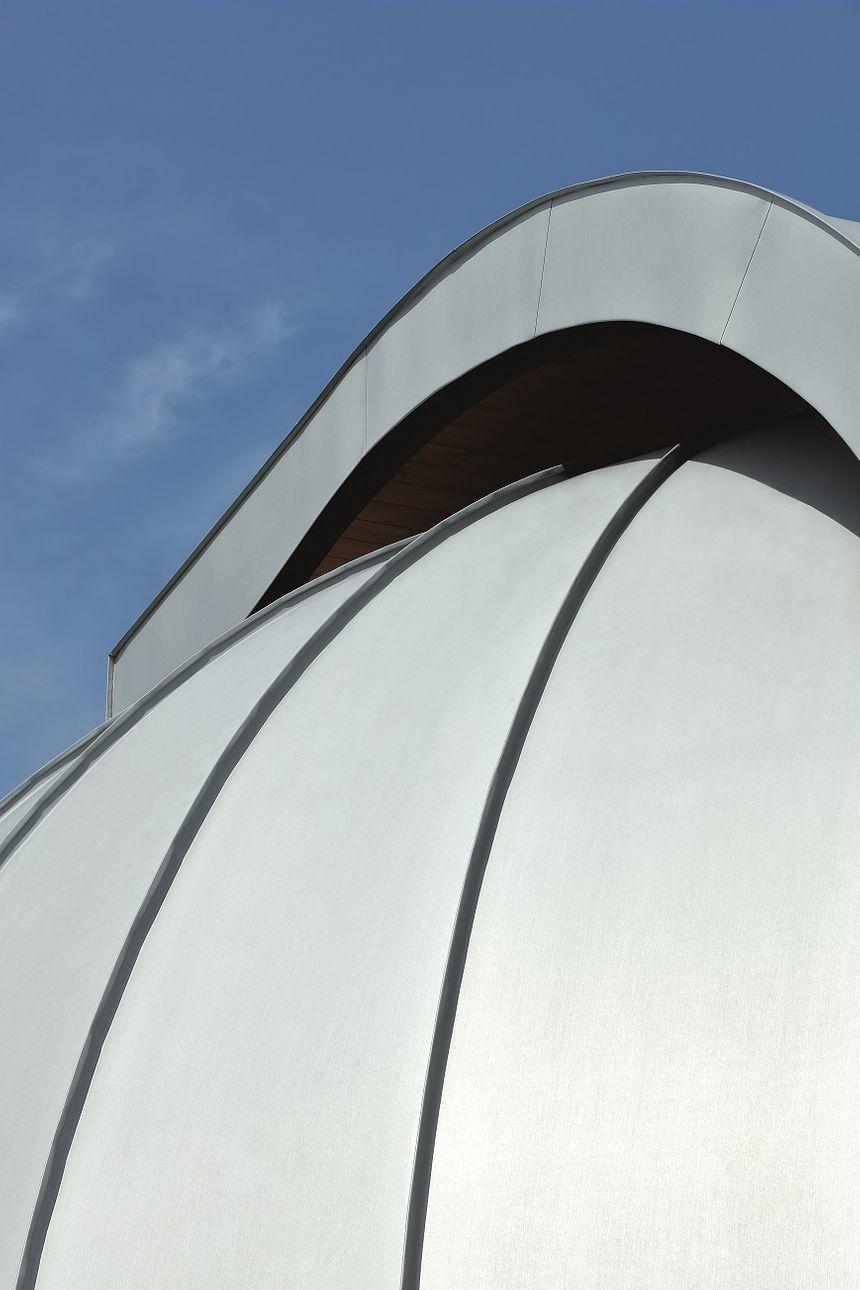 Hvězdárna Teplice - pohled na kopuli