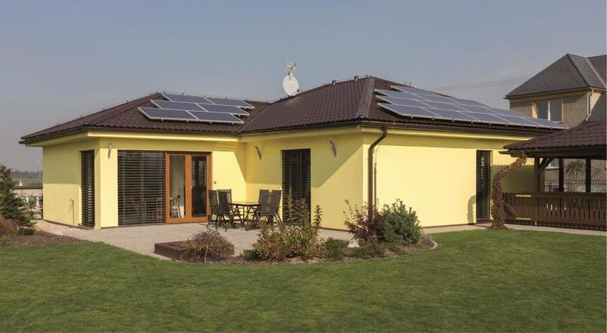 Krytina Rapid s fotovoltaikou integrovanou přímo na svém povrchu