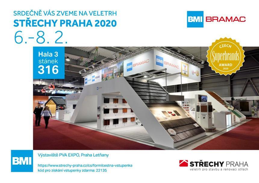 Bramac vás zve na Střechy Praha 2020