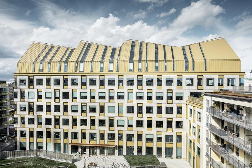 Budova AURA kombinuje historickou tradici s moderními potřebami