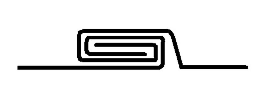 Dvojitá ležatá drážka - příklad
