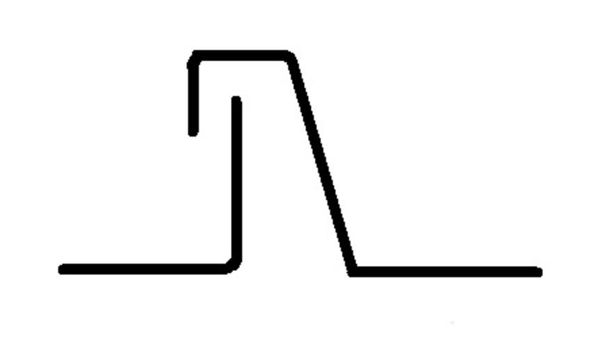 Jednoduchá stojatá drážka - příklad