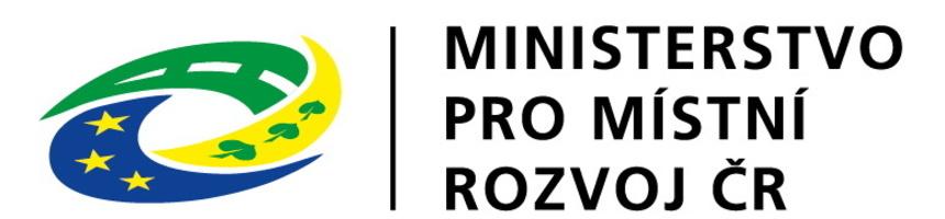 Logo Ministerstva pro místní rozvoj