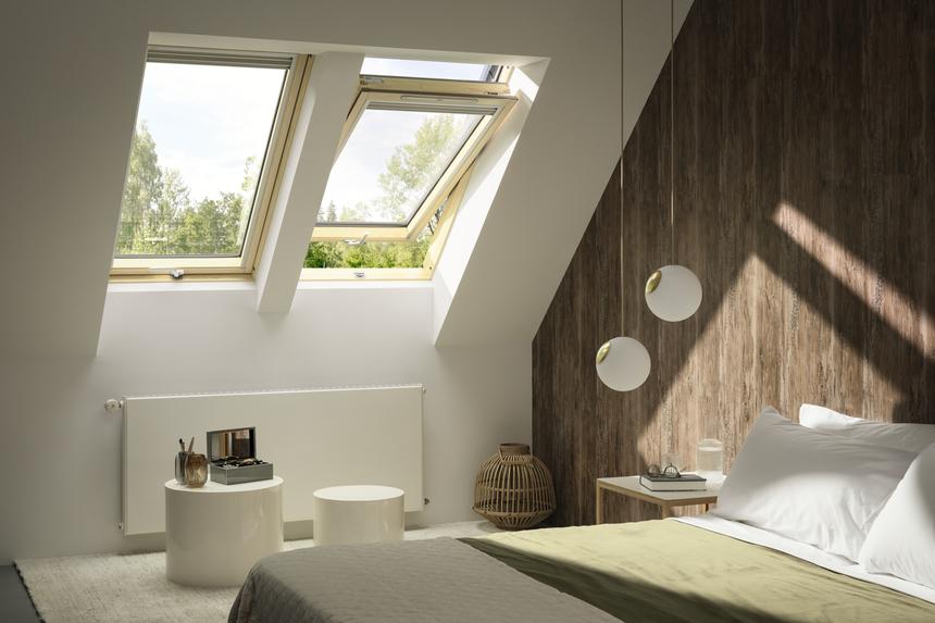 Střešní okno Velux GLL se spodním ovládáním