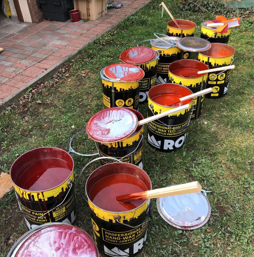 Barvy RAL pro impregnaci střešní krytiny