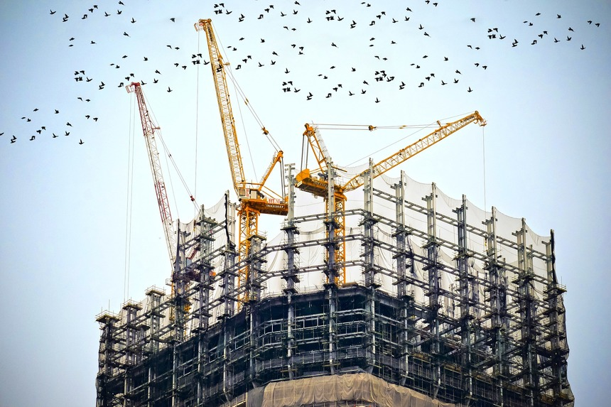Většina analytiků předpokládá pokles stavebních prací