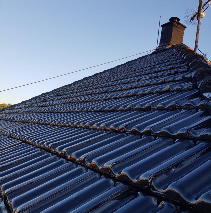 Šikmá střecha po renovaci