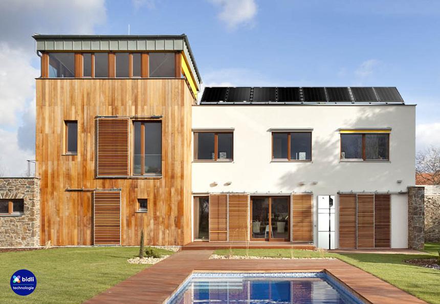 Realizace fotovoltaické elektrárny na rodinném domě