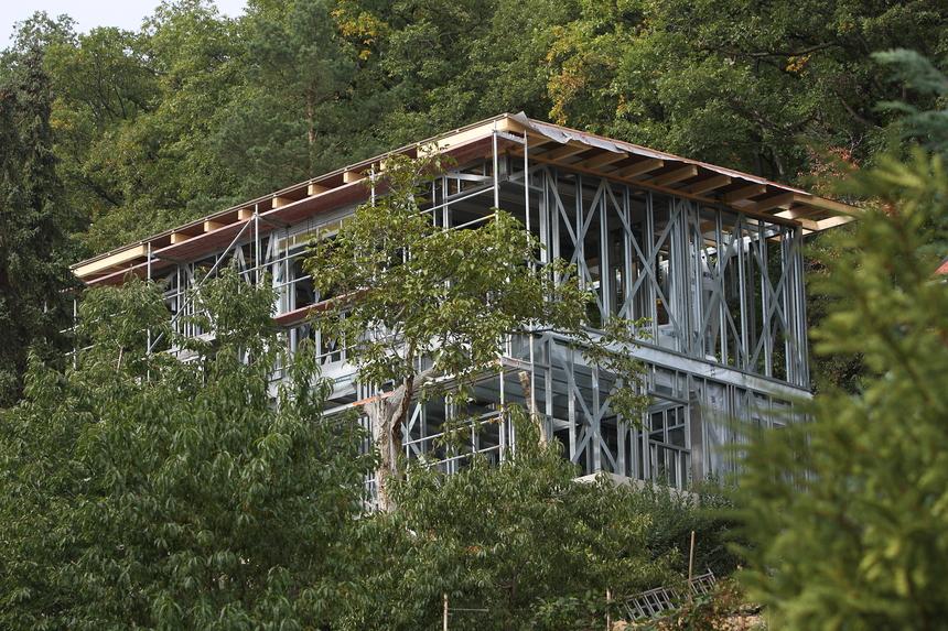 Nízkoenergetický dvoupodlažní rodinný dům v Brné