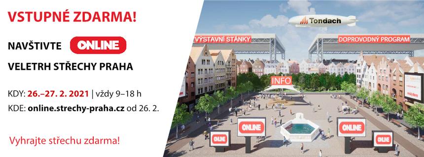 Veletrh střechy Praha 2021