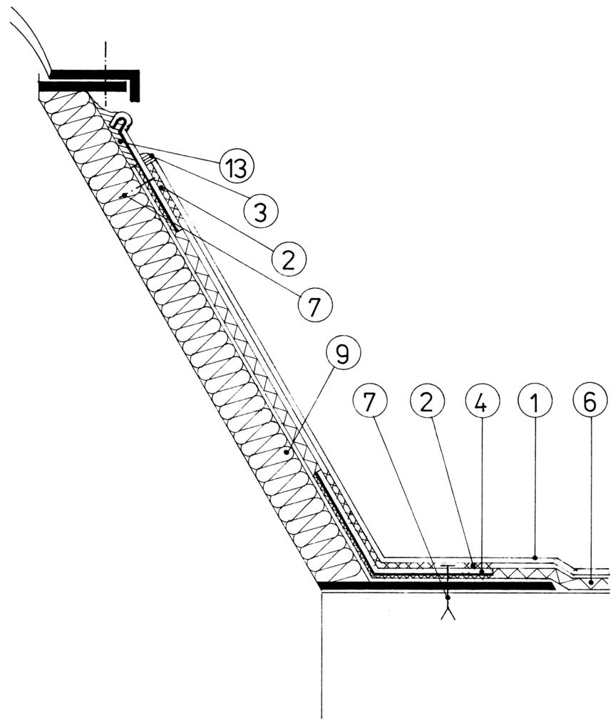 Detail u světlíku