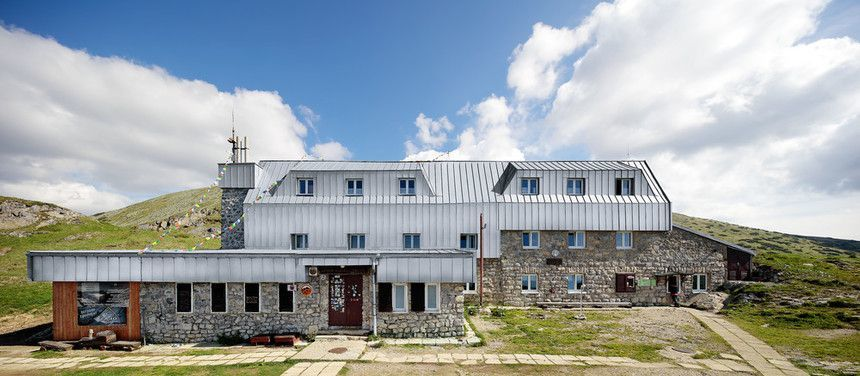 Rekonstrukce chaty generála Milana Rastislava Štefánika - pohled zepředu