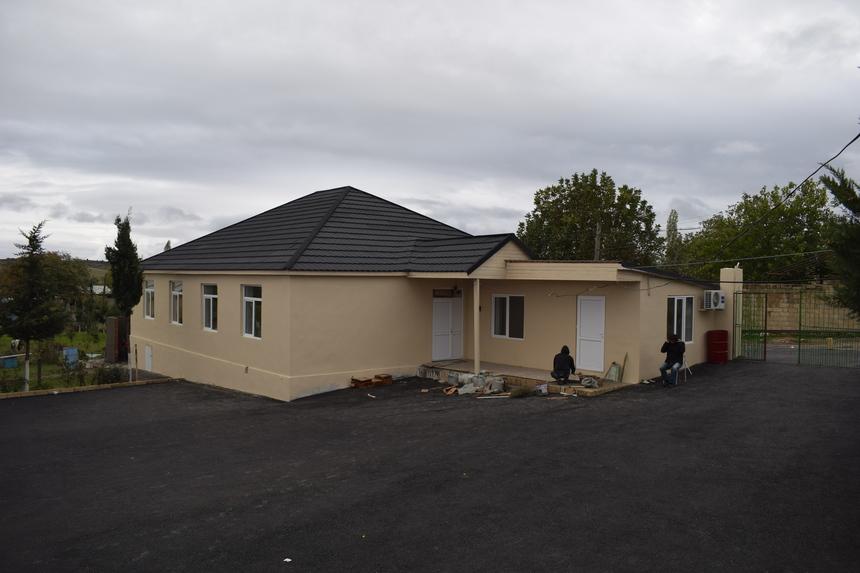 Po rekonstrukci ázerbájdžánské školy