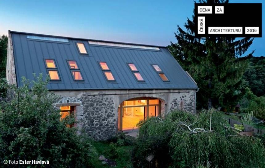 Dům v soutěži cena za architekturu 2016