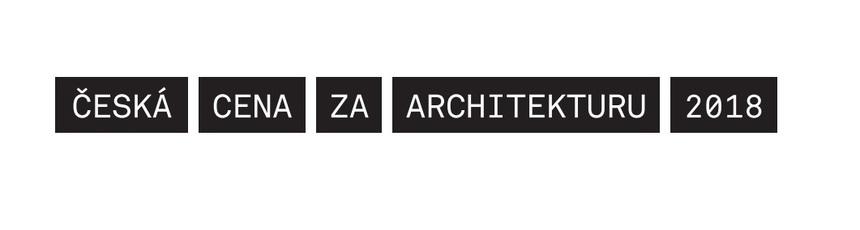 Česká cena za architekturu 2018 logo
