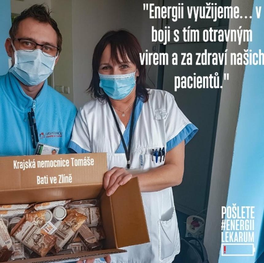 Krajská nemocnice Tomáše Bati ve Zlíně přijímá balíček