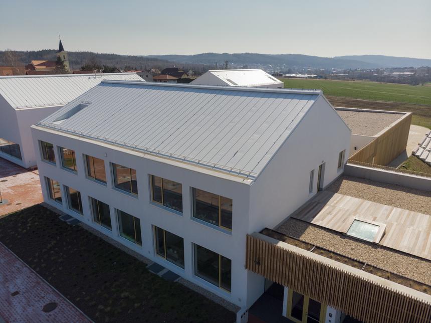 Bílé střechy jsou méně náchylné na vznik kondenzátu