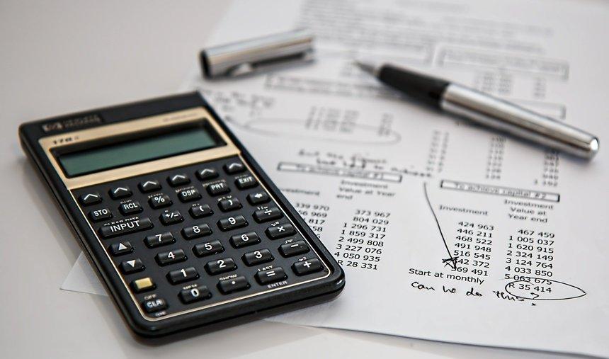 Nezapomeňte zkontrolovat všechny položky v rozpočtu