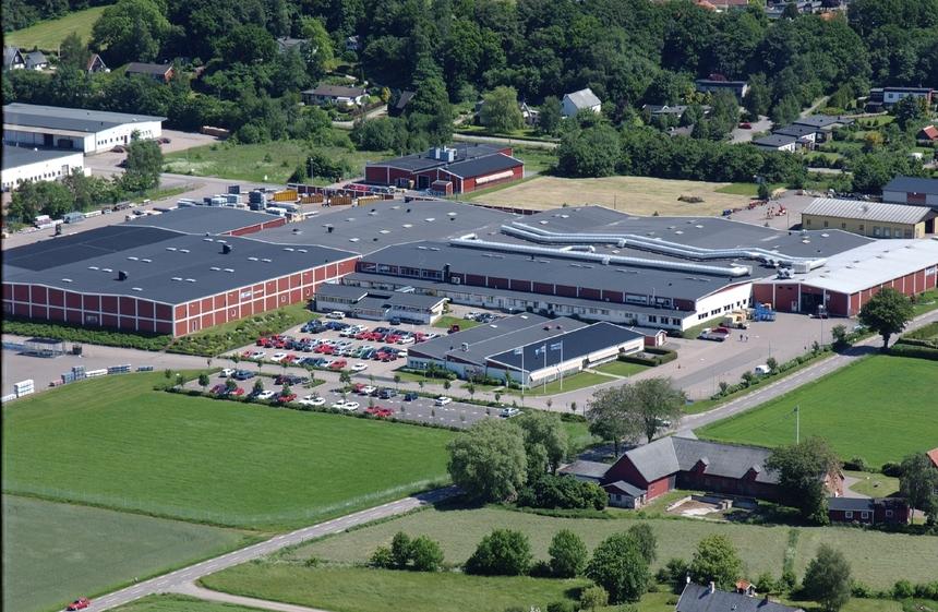 Sídlo mezinárodního koncernu Lindab ve švédském Grevie