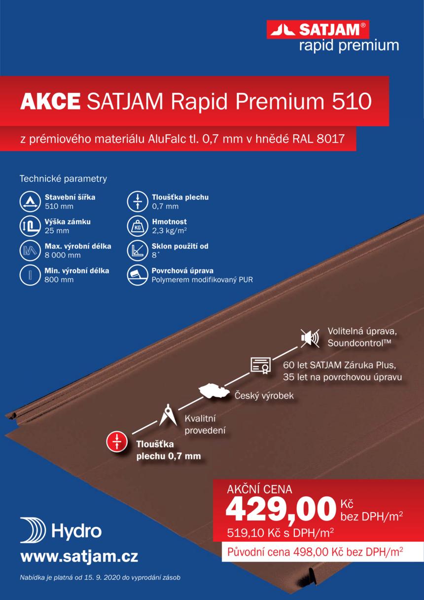 Akce SATJAM - Rapid Premium