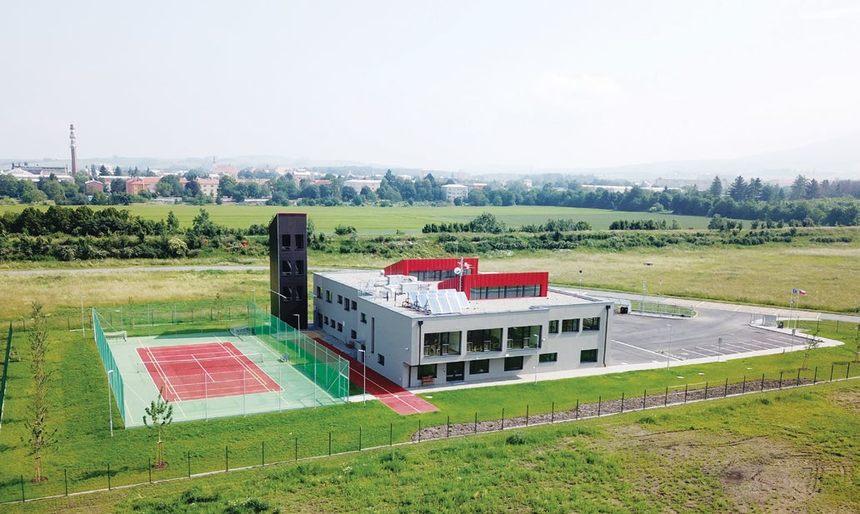 Nová budova je postavena v pasivním standardu