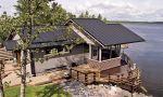 Ocelová střecha je vhodná pro lehké konstrukce dřevostaveb