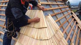 Dřevěný šindel  6. díl - Krytí bání a stěn