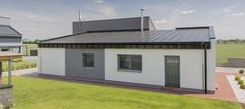 Lindab Seamline - elegantní architektura moderních domů