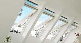 Moderní střešní okna a výlezy v akci