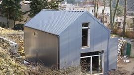 Rodinný dům v Družci u Kladna v pasivním standardu s využitím systému LINDAB STAVBY