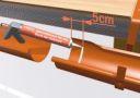 Prefa: Okapové systémy – řešení hliníkových žlabových spojů
