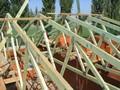 Dřevěné příhradové, lepené vazníky - Seriál krovy a dřevěné k-ce
