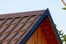 Závětrná lišta - seriál oplechování střechy