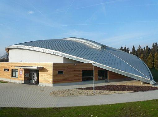 Zimní stadion Ludvíka Koška, GOS CZ s.r.o., 29,5 t, zdroj: Rheinzink