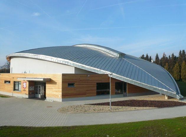 GOS CZ s.r.o., Zimní stadion Ludvíka Koška, zdroj: Rheinzink